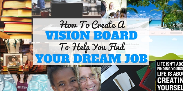how to) create a vision board for your dream job, Powerpoint templates